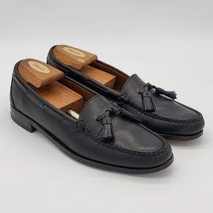 Allen Edmonds Naples Loafers Tassel Black Sz 10.5